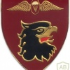 SOUTH AFRICA 44 Para Bde, Freefall Parachute Instructor arm flash, proposed , right