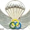 GABON Parachute Instructor wings img2680