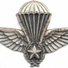 ALGERIA Enlisted Instructor Parachutist wings