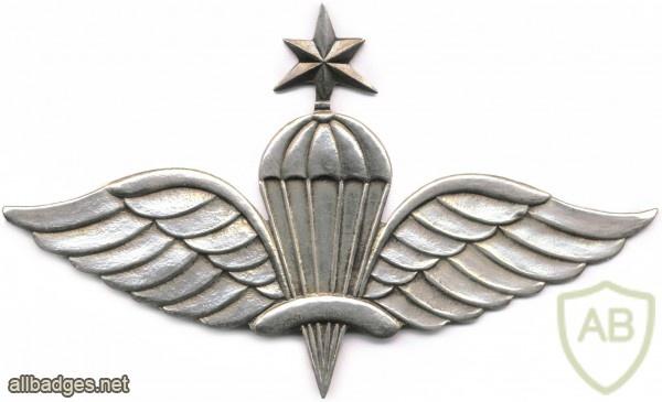 ETHIOPIA Parachutist wings, Senior img2909