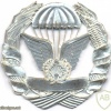 MOZAMBIQUE Parachutist badge, silver img2948
