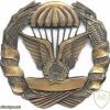 MOZAMBIQUE Parachutist badge, bronze