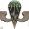 KENYA Parachutist wings, green-black, bronze img3033