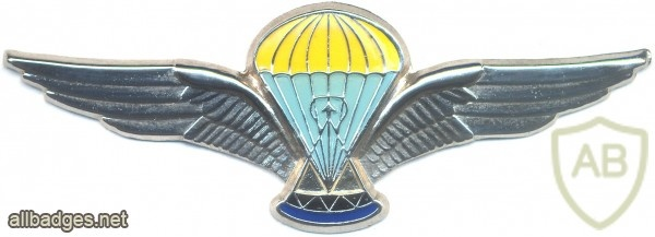 LESOTHO Advanced Parachutit wings, silver, 2nd series img3021