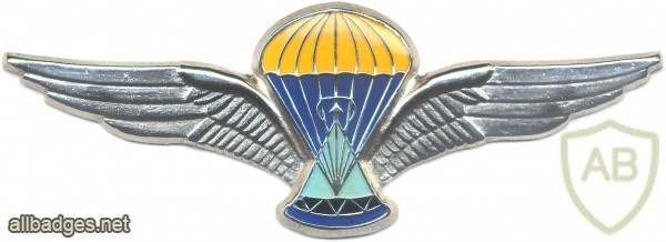 LESOTHO 2nd series Parachutist wings, silver, Unknown Class, img3027
