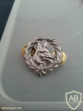 Police canine unit badge img3392