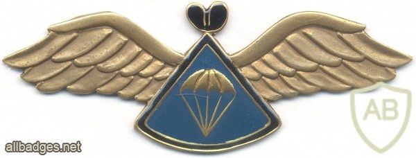 LESOTHO 1st series Parachute Instructor wings img3519