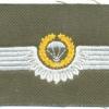 WEST GERMANY Bundeswehr - Army Parachutist wings, Master, Test Design Type II, 1985 - 1986