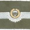 WEST GERMANY Bundeswehr - Army Parachutist wings, Basic, Test Design Type II, 1985 - 1986