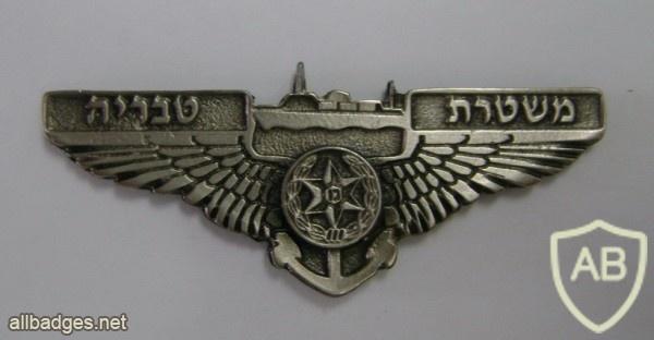 Tiberius police station badge img4158