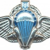 UKRAINE 25th Separate Dnipropetrovsk Airborne Brigade parachutist wings