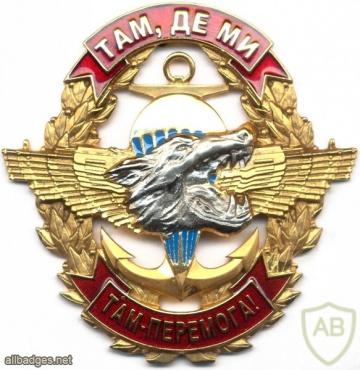 UKRAINE Naval Infantry parachutist badge img4454