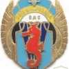 UKRAINE Navy Special Forces combat diver-parachutist badge, unofficial