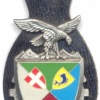 FRANCE 127th Command and Support Regiment pocket badge