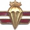 LATVIA Parchutist wings, I Class (gold), obsolete