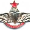 COLOMBIA Senior Pathfinder Parachutist wings, type- 3