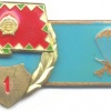 HUNGARY (People's Republic) Airborne Troops qualification badge for Enlisted, 1st Class, 1975-1989