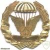 MOZAMBIQUE Parachutist badge, Gold