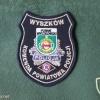 Wyszków police patch
