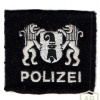 Basel city police, s,all patch