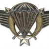 Burkina Faso Parachutist wing