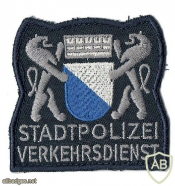 Zurich city Traffic Police patch img6996