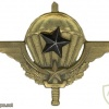 Cameroon Parachutist wing, advanced
