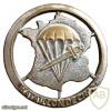 1er bataillon parachutiste de choc, 2nd model, hat badge