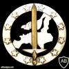Eurocorps beret badge