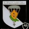 252 Airborne Battailon, 5th Company badge, type 2 img8014
