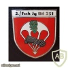 251st Parachute Battalion, 2nd Company badge