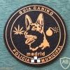 Madrid municipal police, canine unit patch img9173