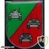 341st Tank Battalion badge, type 2