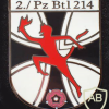 214th Tank battalion, 2nd Company