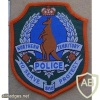 Northern Territory Police arm patch, type 2