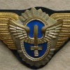 Argentinian Air Force Officiers cap badge img9747