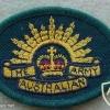 Australian Army arm patch, green img9785