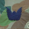 Royal Australian Navy paratrooper cloth wings, combat dress