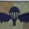 Australian Army paratrooper wings, camo dress 2