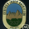 232nd Mountain Rifles Battalion