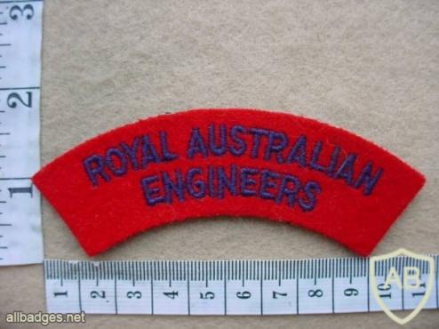 Royal Australian Engineers shoulder title img10206
