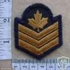 Canadian Sergeant rank badge, work dress