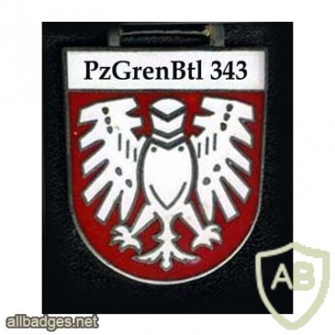 343rd Armored Grenadiers Battalion badge img10308