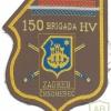 CROATIA Army 150th Brigade sleeve patch