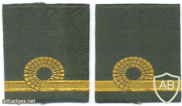 NORWAY Navy Second Lieutenant shoulder ranks img11236
