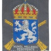 SWEDEN Halland Infantry Regiment sleeve patch, 1981-1990 pattern, obsolete