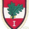 AUSTRIA Army (Bundesheer) - 1st Corps Command sleeve patch, gala uniform, type 2