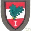 AUSTRIA Army (Bundesheer) - 1st Corps Command sleeve patch, dress uniform, type 2