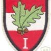 AUSTRIA Army (Bundesheer) - 1st Corps Command sleeve patch, gala uniform, type 1