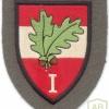 AUSTRIA Army (Bundesheer) - 1st Corps Command sleeve patch, dress uniform, type 1